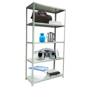 SHELVING UNIT 5TIER 90X40X180CM BRICOL